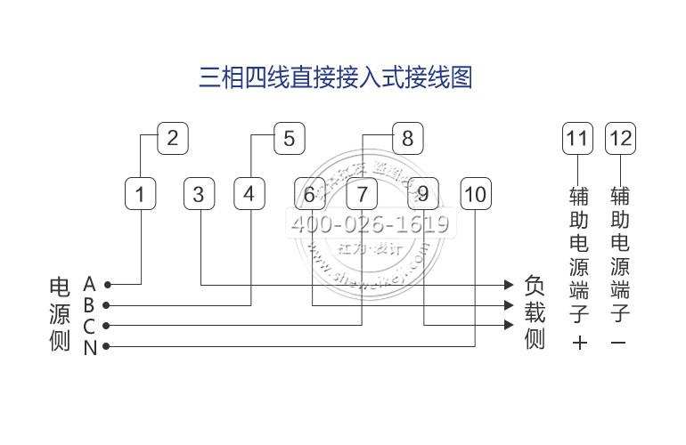 深圳科陆dtzy719-g三相四线远程费控智能电能表