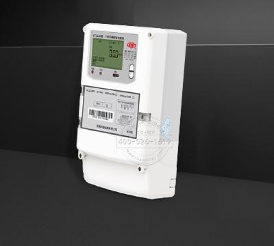河南许继DTZ566三相四线电子式多功能电能表